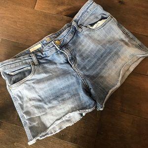 Kut from the kloth cutoff Jean denim gidget shorts